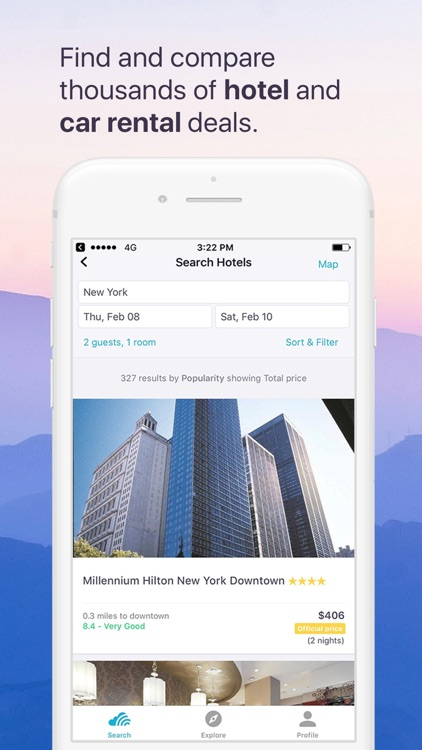 Skyscanner Flights Hotels Cars screenshot-4