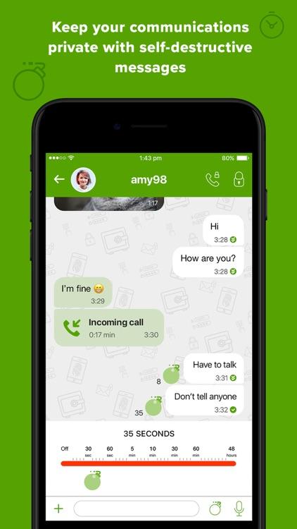 Crypviser Secure Messenger screenshot-6