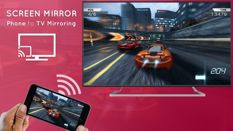 Mirror for LG TV Cast 360