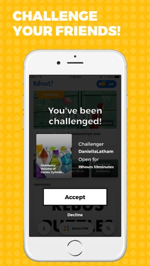 Kahoot! - Play Learning Games Screenshot