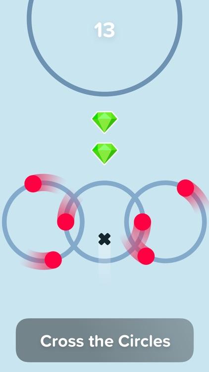 Circle Jumps: Through the Dots