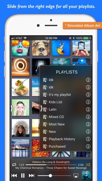 Platinum Music Album Player screenshot-4