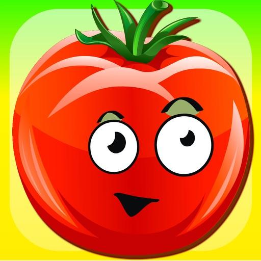 开心蔬菜!儿童和幼儿发育游戏。