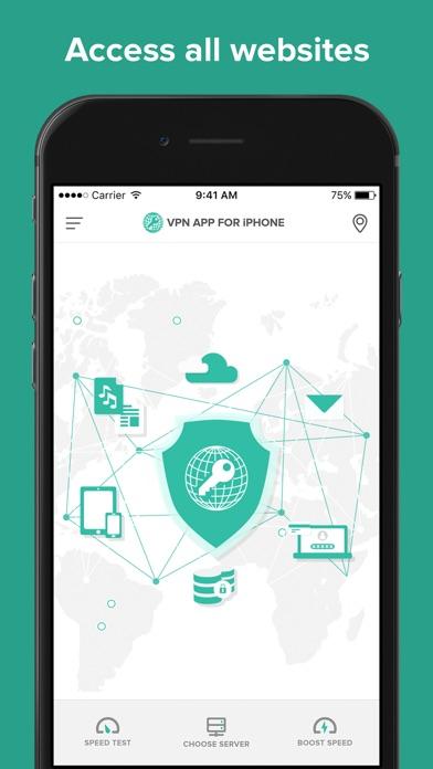 VPN Proxy & Clean VPN Master Screenshot
