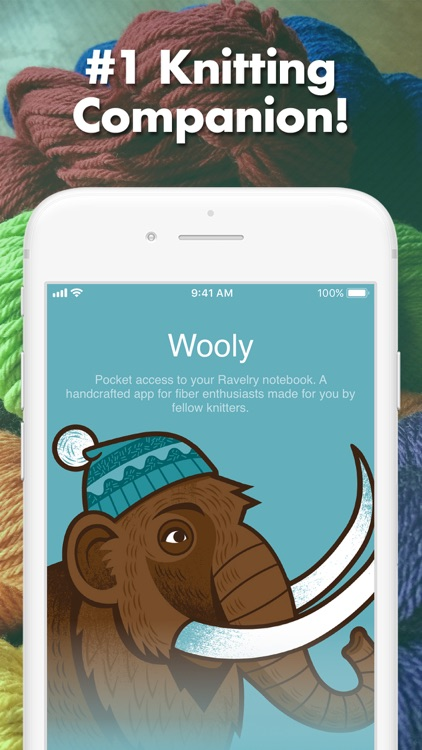 Wooly - Knitting & Crochet App