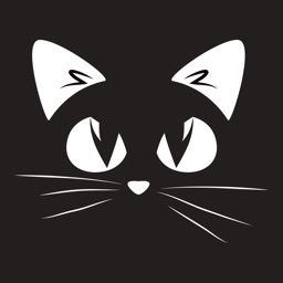 Black Cat Sticker Emojis