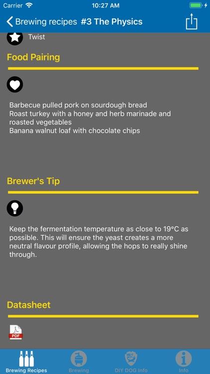 Brewing Recipes screenshot-3