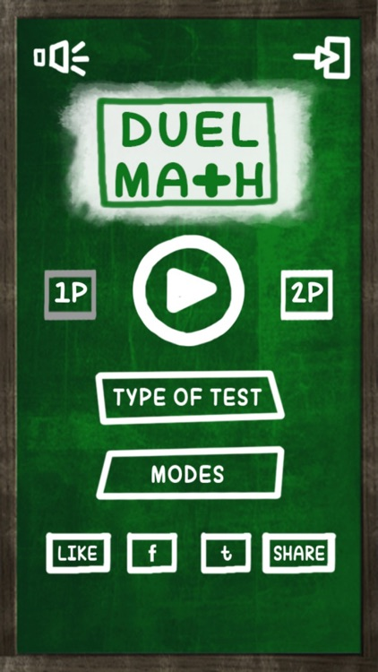Math Game: 2 Player Math Challenge