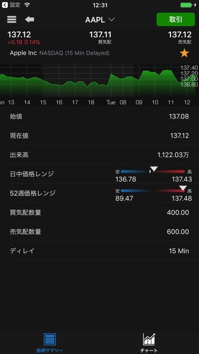トレードステーション米国株 スマートフォンのスクリーンショット3