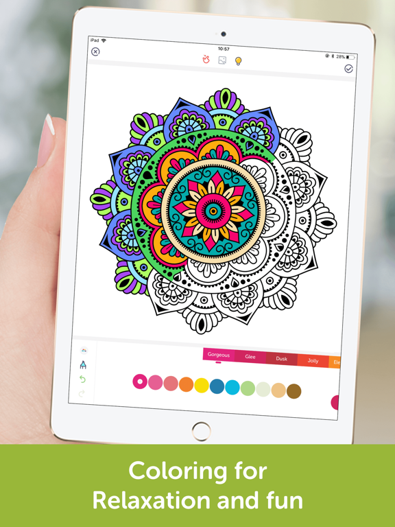 Coloring Book: Mandala, Pixel screenshot 6