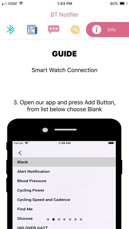 Bt Notifier - Notification App