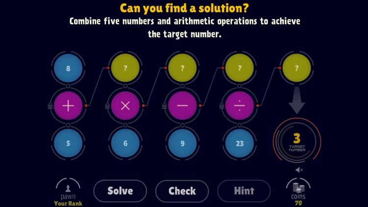 Math Operations: Target Number screenshot-0