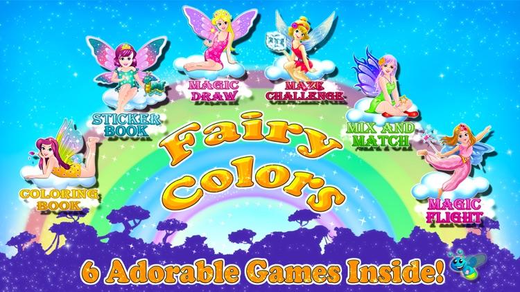 Fairy Colors Draw & Paint