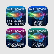 Ultimate Brainwave Entrainment Pack: 85 Binaural Programs w/ iTunes Music & Ambience