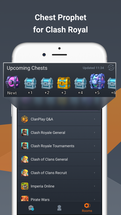 ClanPlay: Chat for Gamers screenshot three