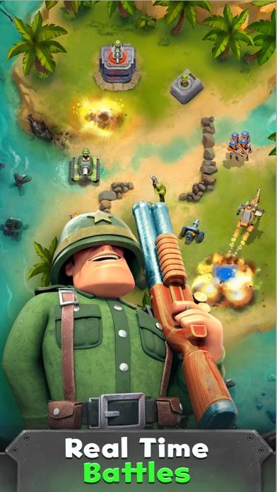 War Heroes Strategy Card Games screenshot 2