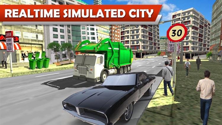 off road Truck Garbage Sim Pro screenshot-4