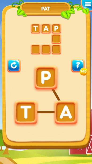 Word Cross Farm: Search Games screenshot 1