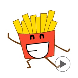 Cutie Foodie - Food Emoji GIF