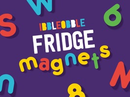For all you 'texters' out there who like getting creative with iMessage… here's Ibbleobble Fridge Magnets