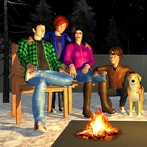 Happy Family Simulator Reality iOS App