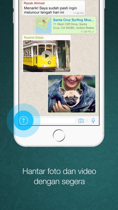 Screenshot for WhatsApp Messenger in Malaysia App Store