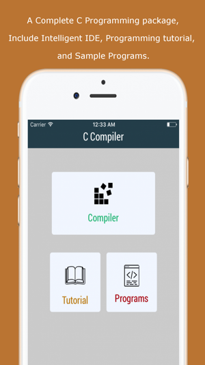 C Compiler on the App Store