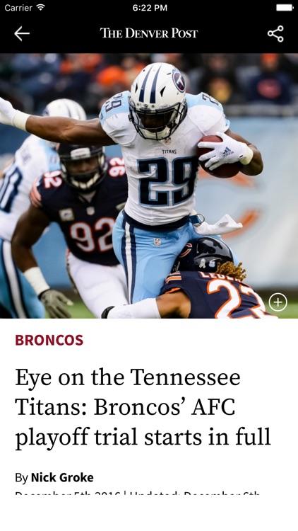 Denver Post Sports