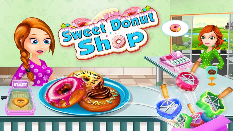 Donut Shop: Kids Cooking Games