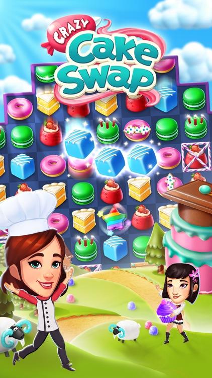 Crazy Cake Swap screenshot-4