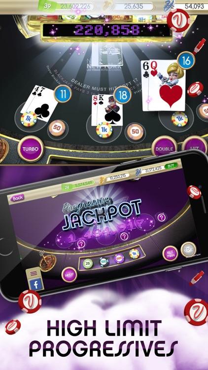 myVEGAS Blackjack – Casino screenshot-3