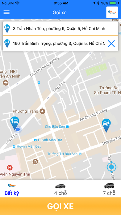 Taxi Đà Nẵng screenshot three