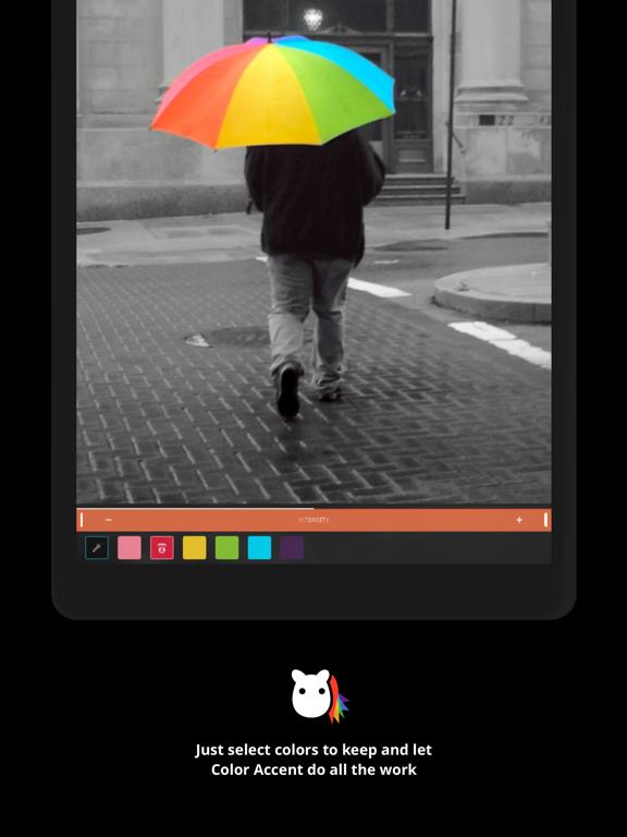 Color Accent Screenshots