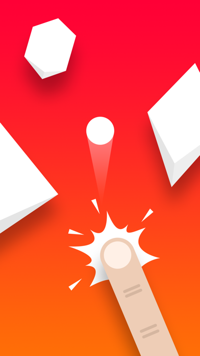 Red Ball Rush – Ballz Flipper screenshot one