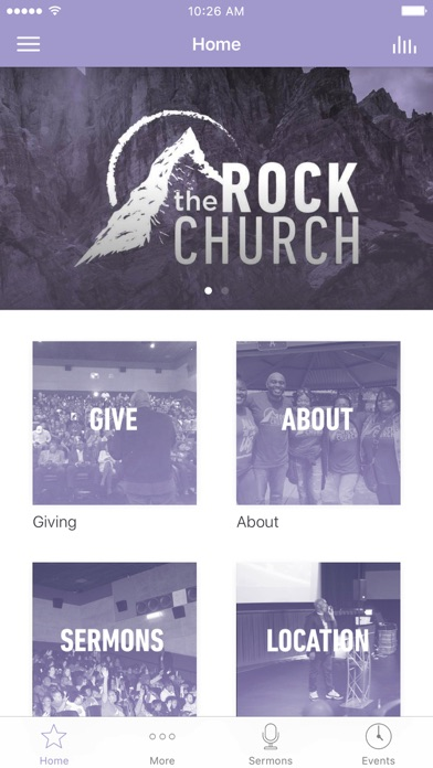 The Rock Church Bay Area screenshot 1
