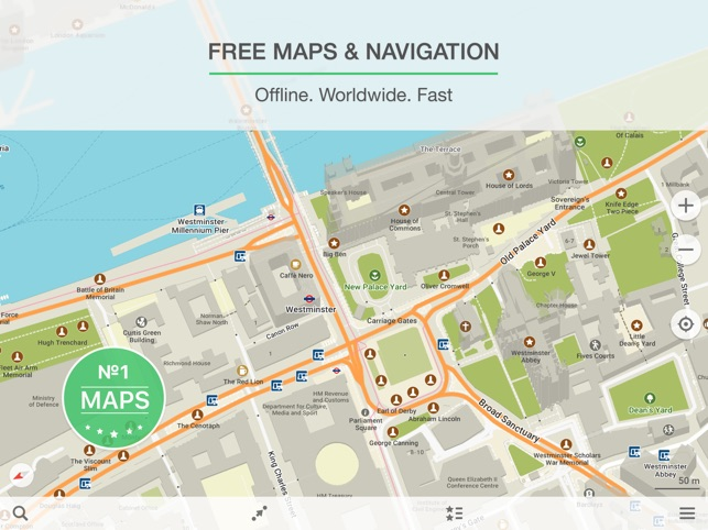 maps me offline map nav on the app store