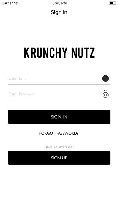 Krunchy Nutz screenshot one