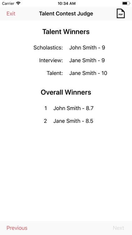 Talent Competition Judge screenshot-8