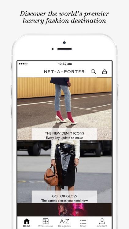 NET-A-PORTER | Luxury Fashion screenshot-0