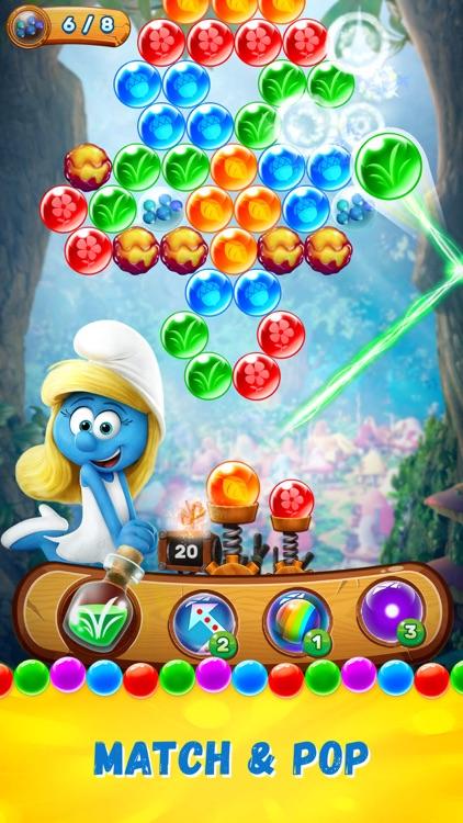 Smurfs Bubble Story screenshot-0