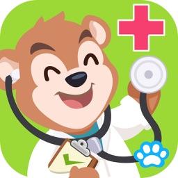 Uncle Bear Hospital - Uncle Bear education game
