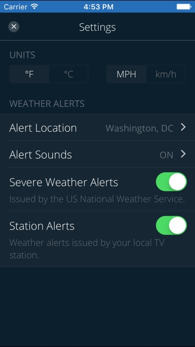 download WUSA 9 WEATHER apps 0