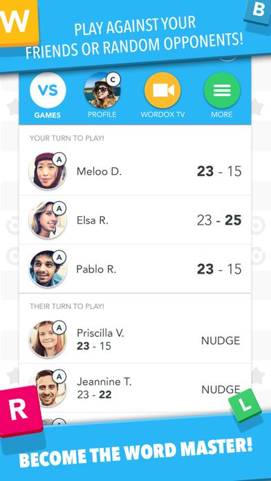 Wordox - Multiplayer word game Скриншоты4