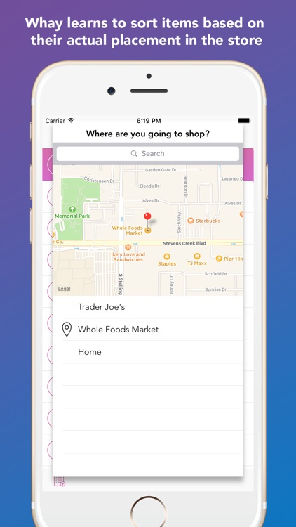 Whay: Shopping List Assistant