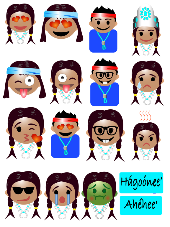 Navajo Emojis by Gary Grass (iOS, United States) - SearchMan