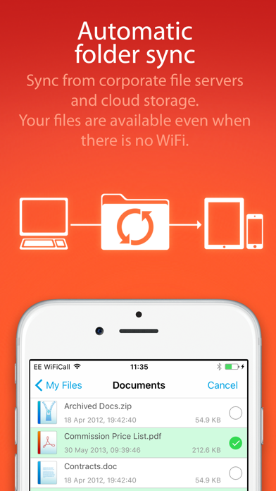 FileBrowser for Business Скриншоты6