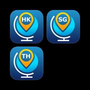 Asia Travel Guides. Hong Kong, Bangkok & Singapore city guides and offline maps.