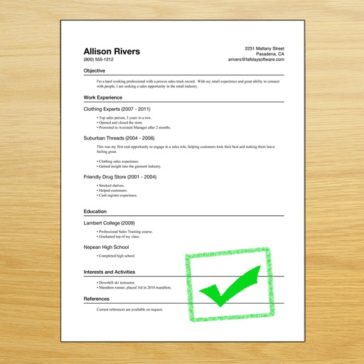 Resume Designer 3