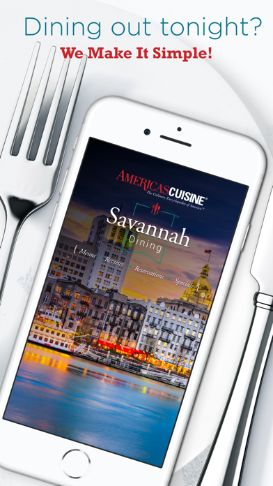 Savannah Dining screenshot one