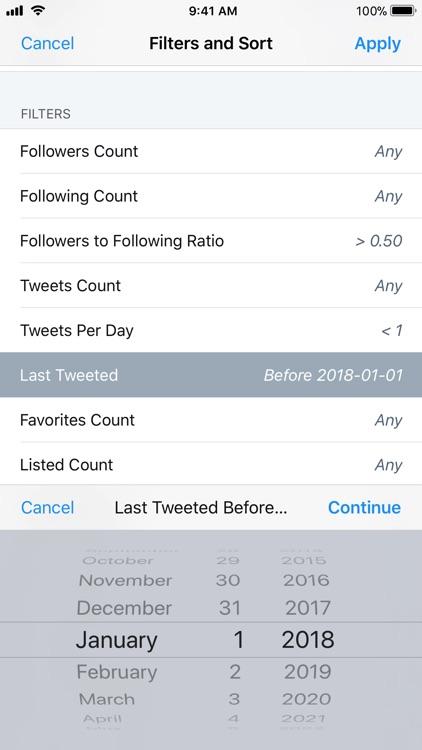 Who Unfollowed Me on Twitter screenshot-4